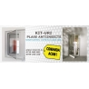 Kit Plasa L 900mm, H 1700mm plasa impotriva insectelor cu balamale